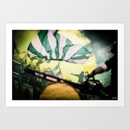 Support Your Passions  Art Print