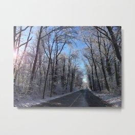 Lunenburg Road Metal Print
