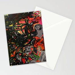 Inferno Fire Stationery Cards