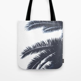 Palm Tree leaves abstract III Tote Bag