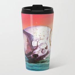 The Feeling Of Waves Metal Travel Mug