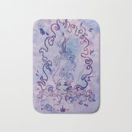 The Flame (Purple Texture) Bath Mat