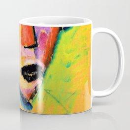 Woman's face - Digital Remastered Edition Coffee Mug