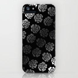 Roses pattern VII iPhone Case