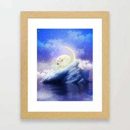 Guard Your Heart. Protect Your Dreams. Framed Art Print