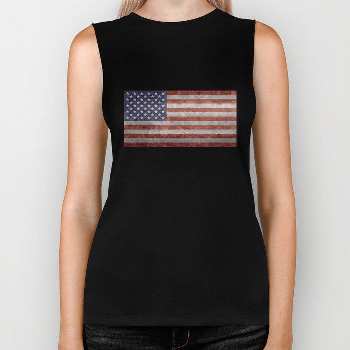 United States of America Flag 10:19 G-spec Vintage Biker Tank