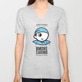 JHU Bmore Caring | Male Unisex V-Neck