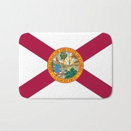 Flag of Florida-floridian,floridan,Miami,Tempa,Orlando,hispanic,beach,sun,jacksonville,holidays,warm Bath Mat