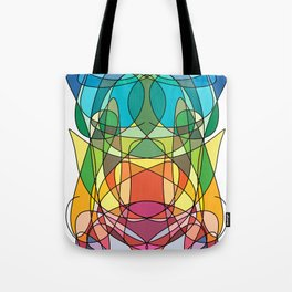 Abstract Curves #4 - Butter Fly Tote Bag