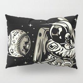 Space Baseball Astronaut Pillow Sham