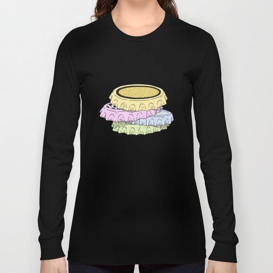 crown cap Long Sleeve T-shirt