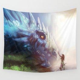 Taming the Dragon Wall Tapestry
