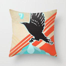 Poster Project | Naaman Throw Pillow