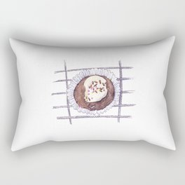 Chocolate Overload Cupcake Rectangular Pillow