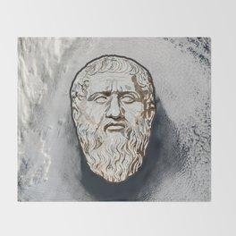 Plato Throw Blanket