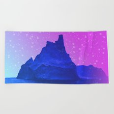 The Fortress of Ice Beach Towel