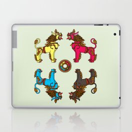 Guardian Dragon-lions of Kathmandu Laptop & iPad Skin