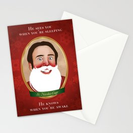 Jolly Ol' St. Nicolas Stationery Cards