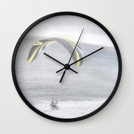 """""""Paraglider 1"""" by Murray Bolesta! Wall Clock"""