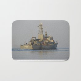 Greek Warship Bath Mat