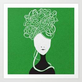 Iconia Girls - Maria April Art Print