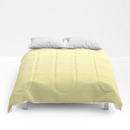 Six shades of yellow. Comforters