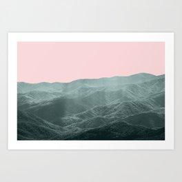 Smoky Mountain Summer Art Print