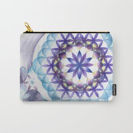 Levender Mandala Carry-All Pouch