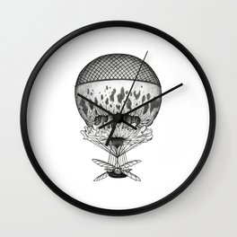 Jellyfish Joyride Wall Clock