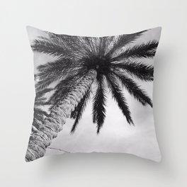 Florida Palm Tree Throw Pillow
