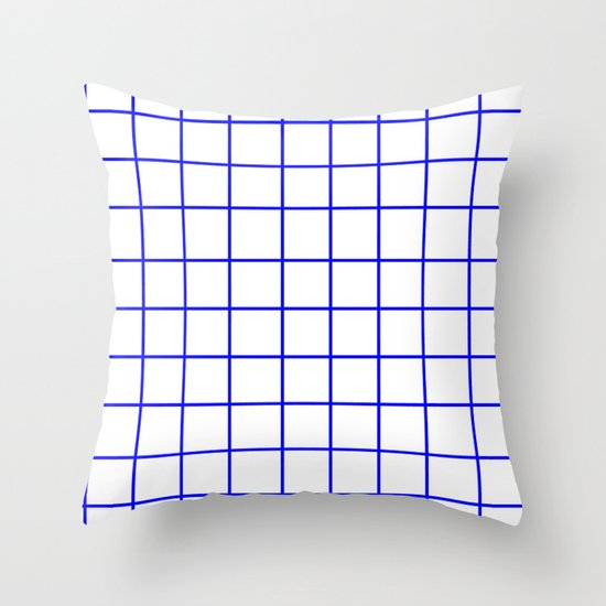 Grid (Blue/White) by 10813apparel