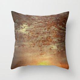 Amber Dawn Throw Pillow