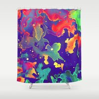 under the sea Shower Curtains featuring Under the Sea by Adaralbion