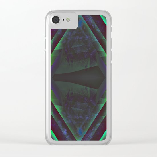 Diamond Gateway Clear iPhone Case