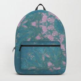 Navajo Turquoise Gemstone Mandala No. 40 Backpack