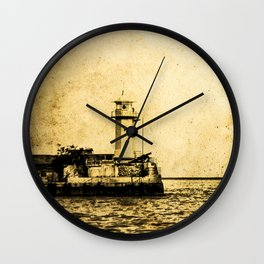 Old Lighthouse (vintage) Wall Clock
