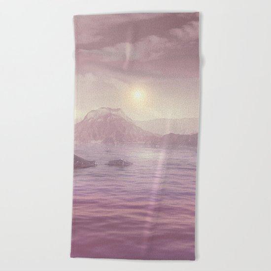 Pastel vibes 63 Beach Towel
