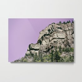 Trail Head Metal Print