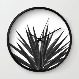Succulent Photographic Print Wall Clock