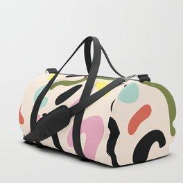 SQUIGGLE BEAN Duffle Bag