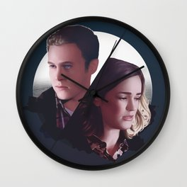 Fitzsimmons - Chemicals Between Us Wall Clock