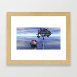 die Stille Framed Art Print