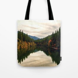 The Pit River in Northern California Tote Bag