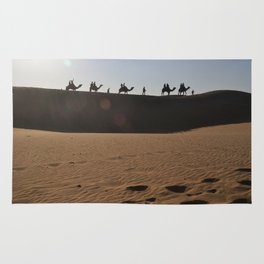 Camel Safari in Thar Rug