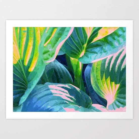 Jungle #society6 #decor #buyart Art Print