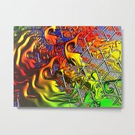 ragga honeycomb Metal Print