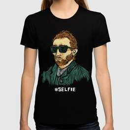 Van Gogh: Master of the #Selfie T-shirt