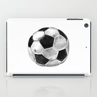 soccer iPad Cases featuring Soccer Worldcup by Matthias Leutwyler
