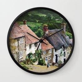 Shaftesbury, England Wall Clock