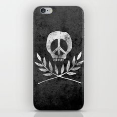 Peace is Death iPhone & iPod Skin